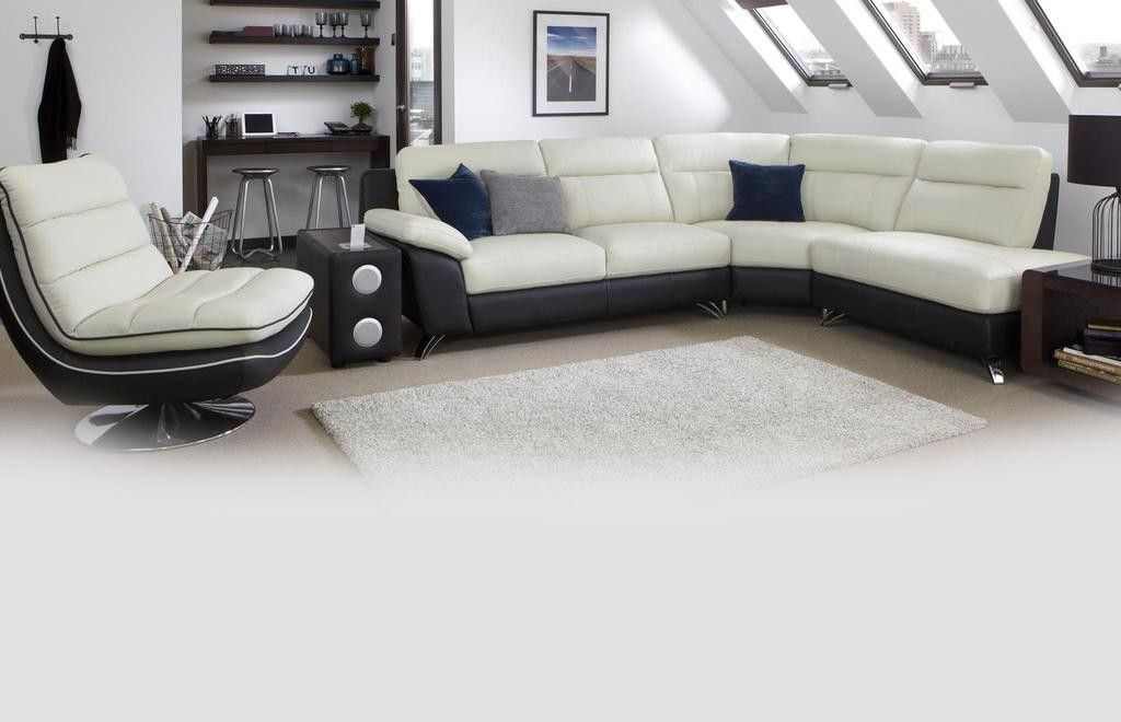 Pinsharon Hoey On Sofa   Leather Corner Sofa, Dfs Pertaining To Trailblazer Gray Leather Power Reclining Sofas (View 14 of 15)