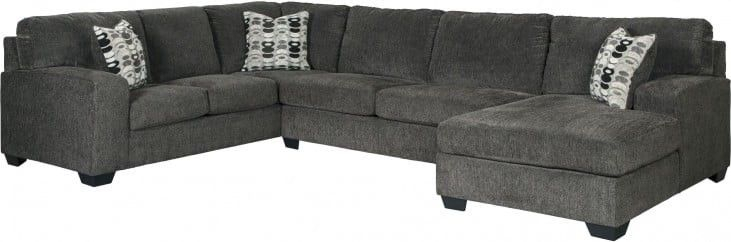Pintrenecia Brocks On Decor   3 Piece Sectional With Regard To 3Pc Polyfiber Sectional Sofas (View 5 of 15)