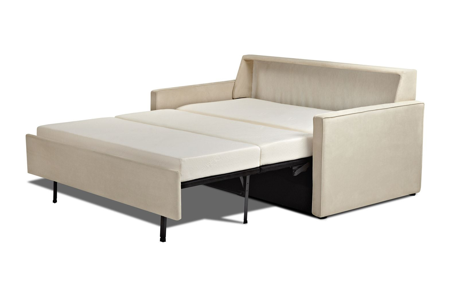 Posh Tempurpedic Sofa Bed Design For Fashionable Pertaining To Felton Modern Style Pullout Sleeper Sofas Black (View 12 of 15)