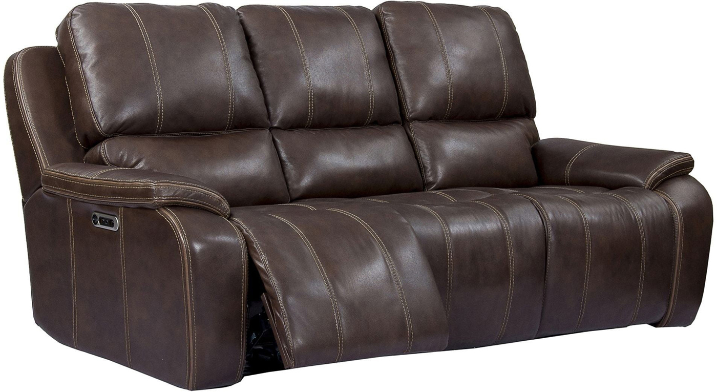 Potter Leather Power Dual Reclining Sofa With Usb Charging With Regard To Nolan Leather Power Reclining Sofas (View 12 of 15)
