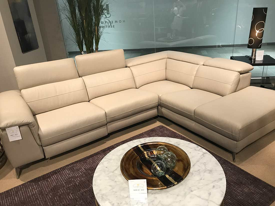 Power Recliner Sectional Sofa He 256   Leather Sectionals With Sectional Sofas (View 9 of 15)