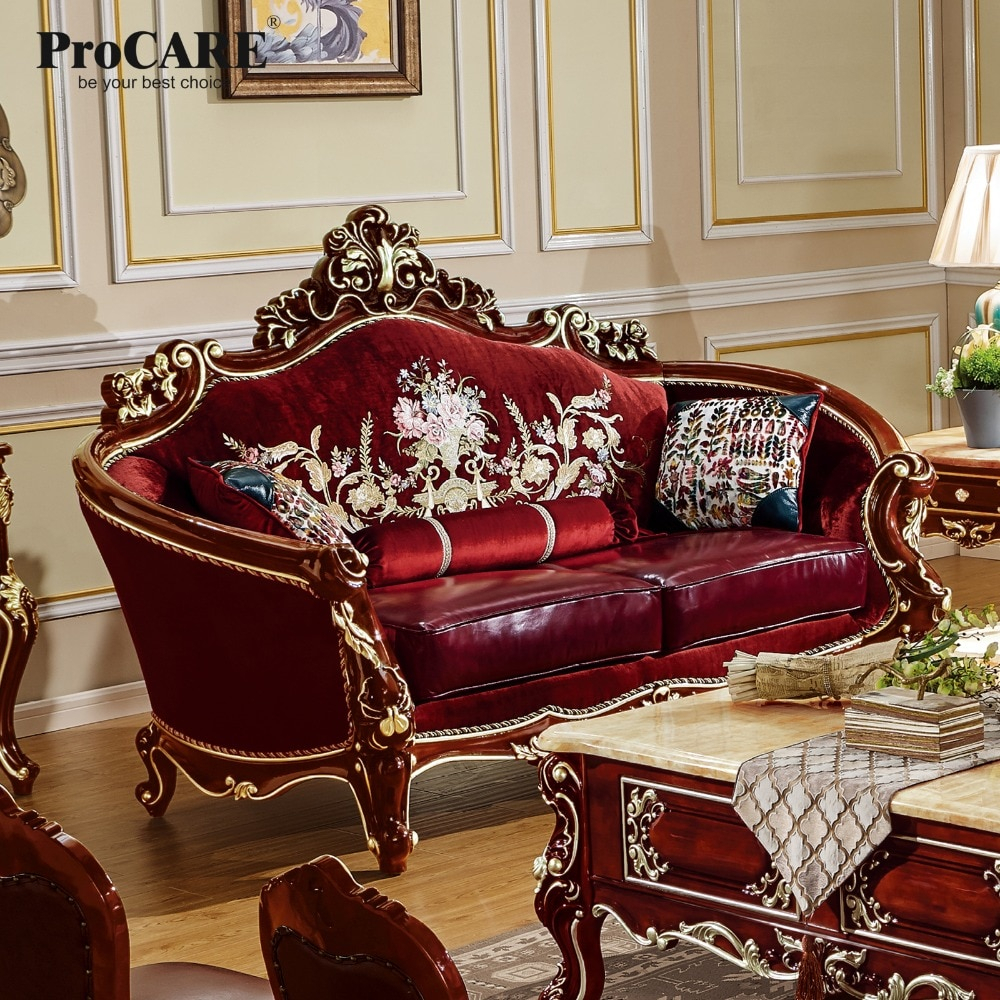 Procare Modern Antique Quality Luxury European Style Inside Fancy Sofas (View 8 of 15)