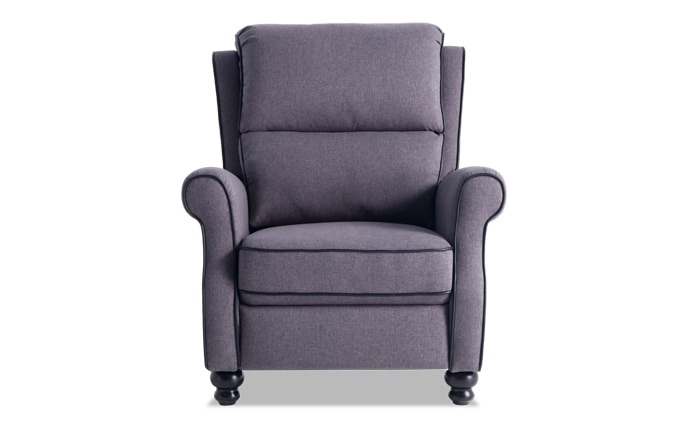 Recliners   Bobs For Forte Gray Power Reclining Sofas (View 10 of 15)