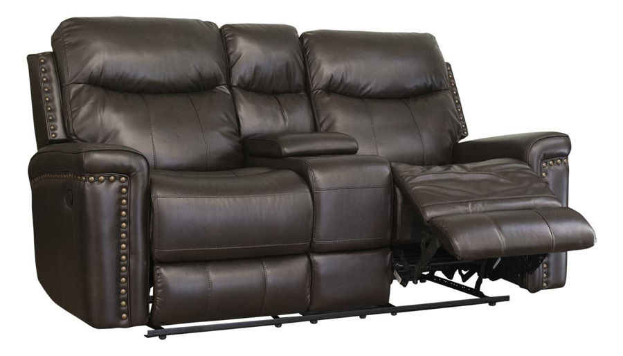 Reclining Loveseats – Living Room   Home Zone Furniture Throughout Forte Gray Power Reclining Sofas (View 5 of 15)