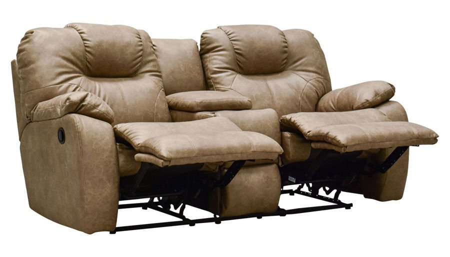 Reclining Loveseats – Living Room   Home Zone Furniture With Forte Gray Power Reclining Sofas (View 13 of 15)