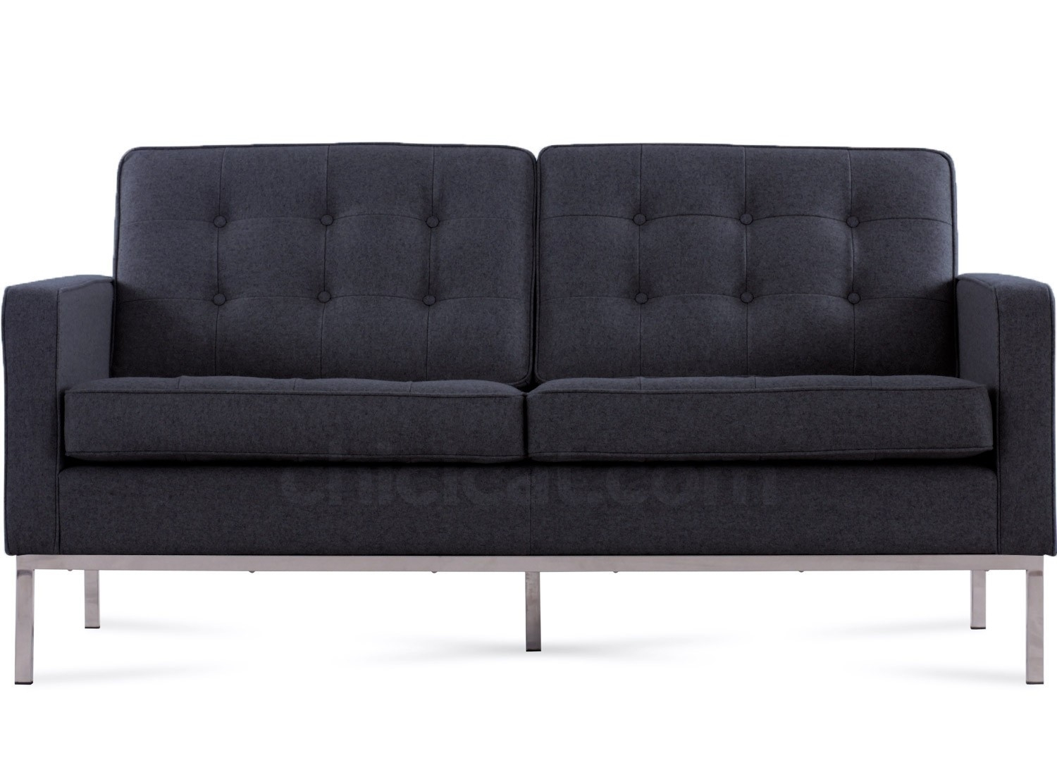 Replica Florence Knoll 2+1 Sofa Range *Cashmere Ifurniture Within Florence Knoll Living Room Sofas (View 11 of 15)