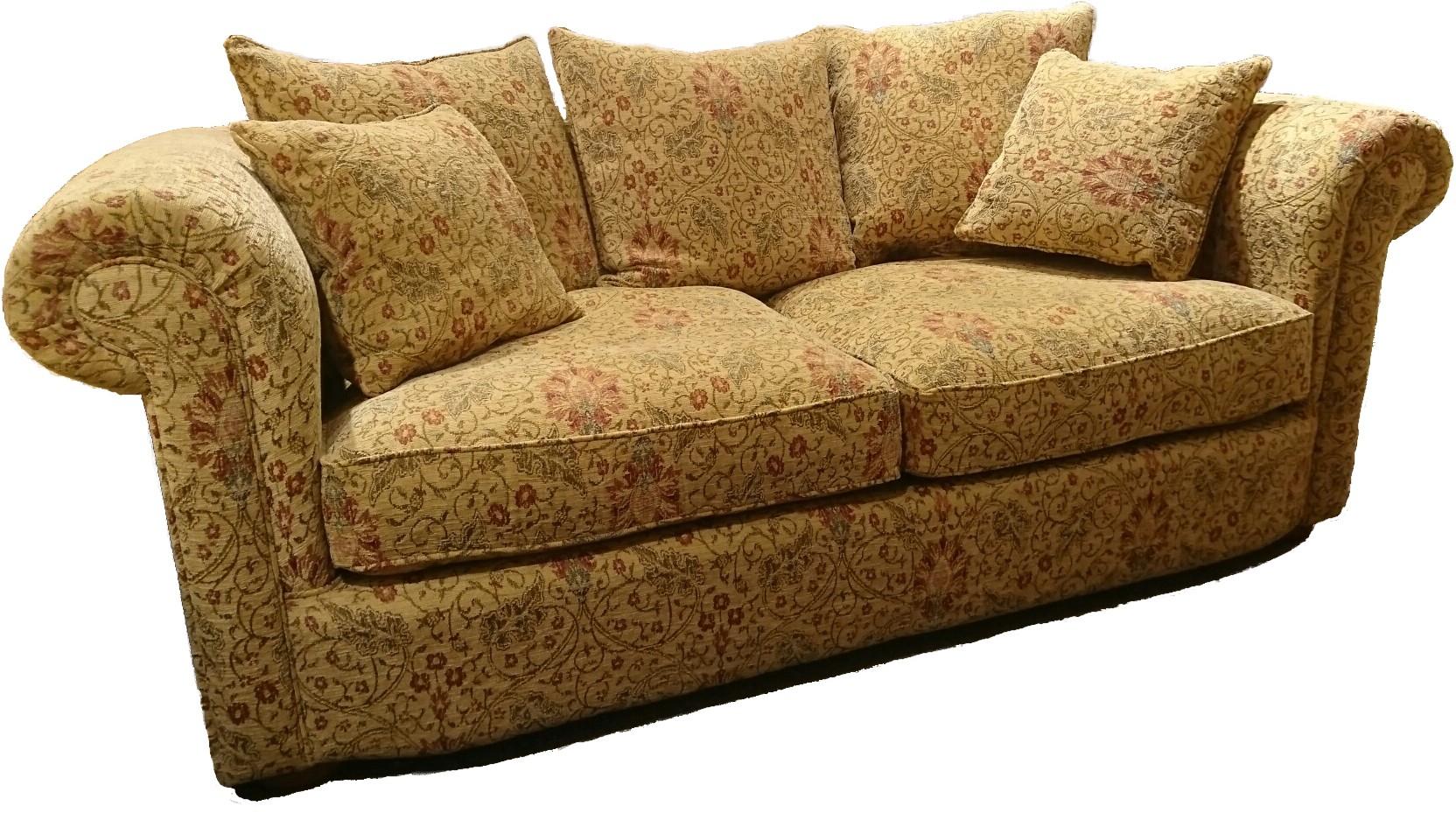 Richmond Fabric 2 Seater Sofa – Old Creamery Furniture With Regard To Richmond Sofas (View 1 of 15)