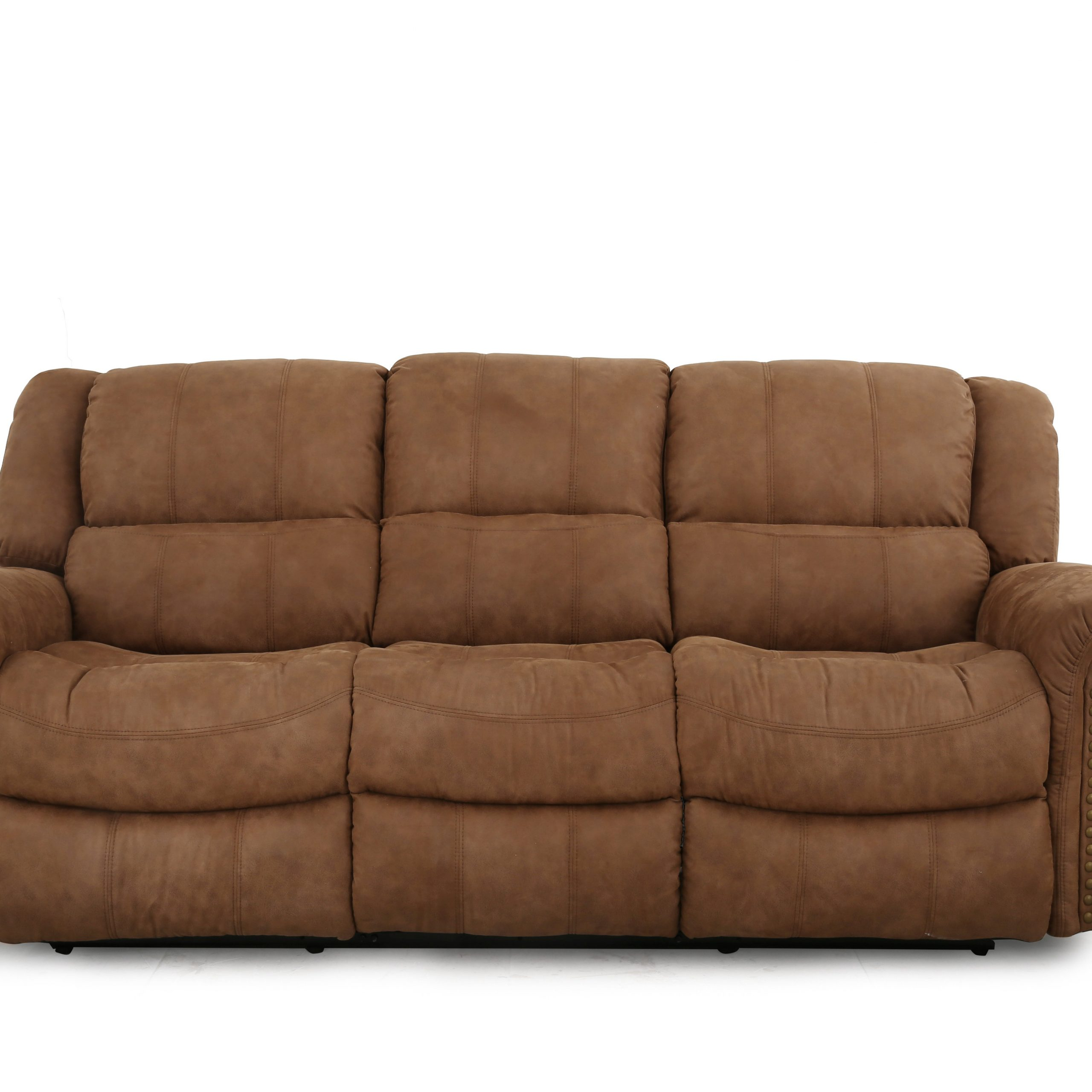 Rick Manual Reclining Sofa | Costplus For Manual Reclining Sofas (View 4 of 11)