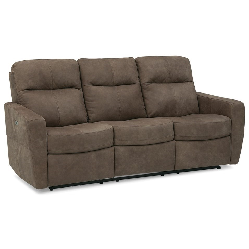 Rockwood Spencer Contemporary Power Reclining Sofa With With Bennett Power Reclining Sofas (View 1 of 15)