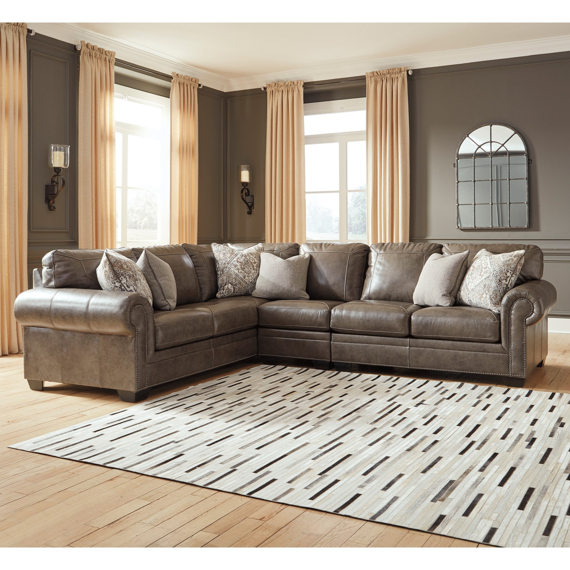 Roleson 3 Piece Sectional – Bernie & Phyl'S Furniture – Intended For 3Pc Polyfiber Sectional Sofas (View 1 of 15)