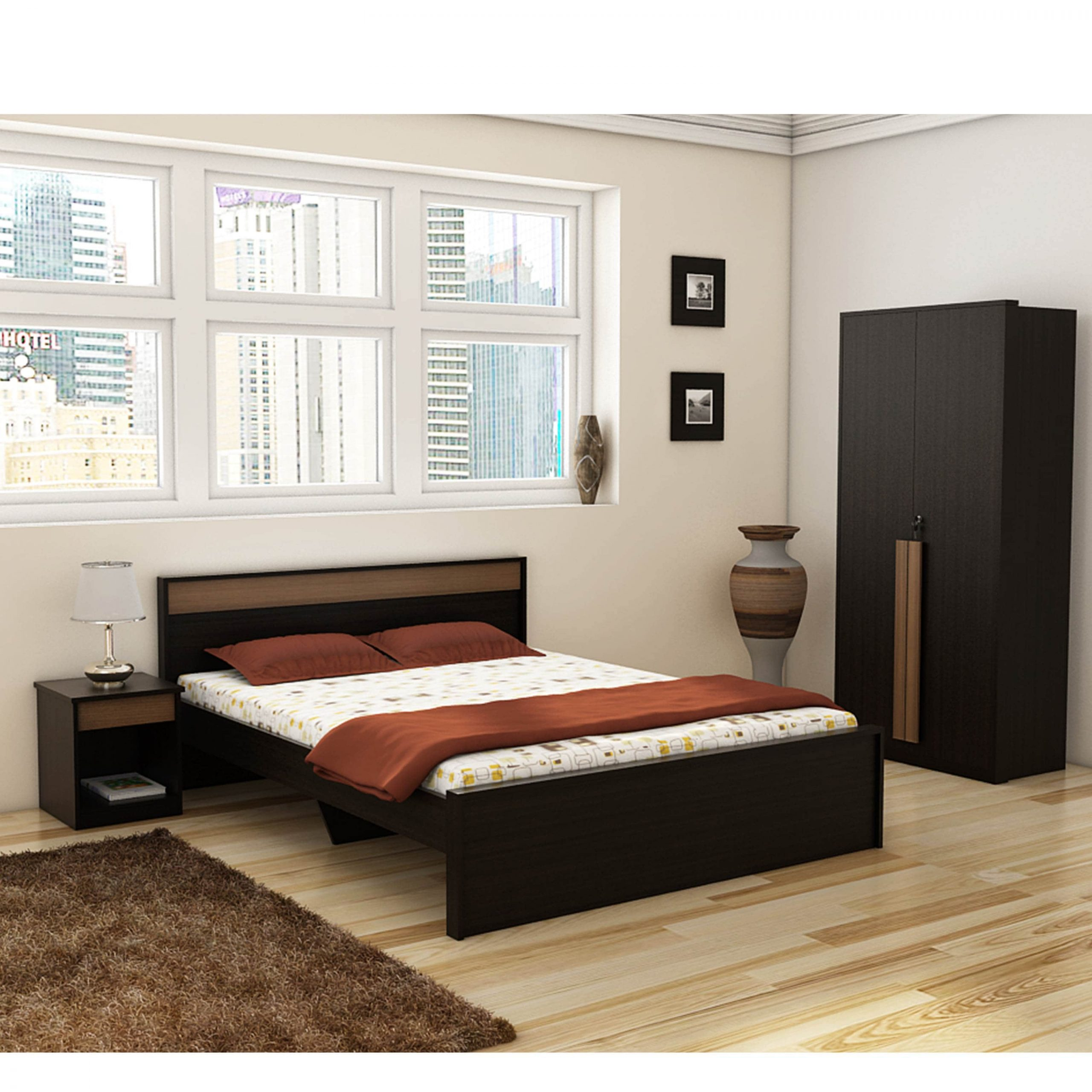 Roma Bedroom Set   Betterhomeindia   Indian Bedroom Set Regarding Bedroom Sofas And Chairs (View 3 of 15)
