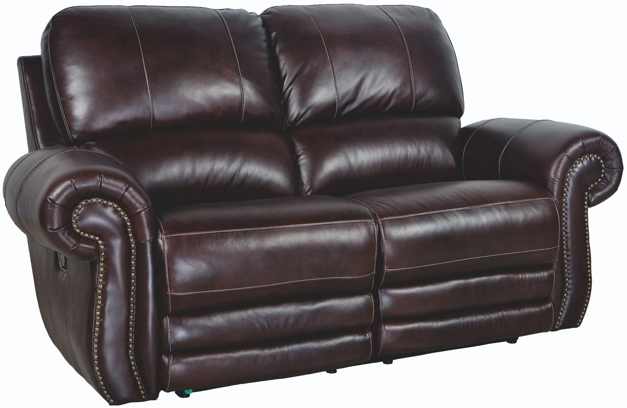 Rossi Dark Brown Power Reclining Loveseat From New Classic Pertaining To Expedition Brown Power Reclining Sofas (View 1 of 15)