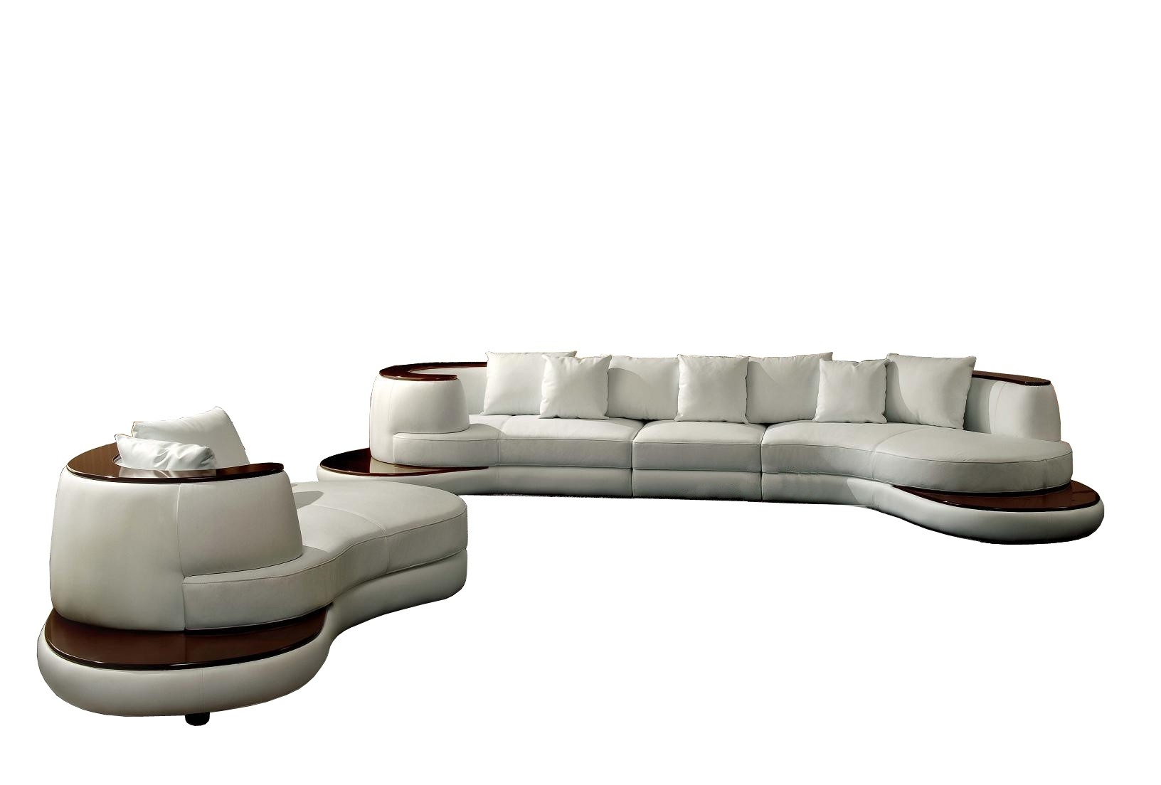 Rounded Corner Sofas Sectional Sofa Curved Corner Wedge For Custom Made Sectional Sofas (View 8 of 15)