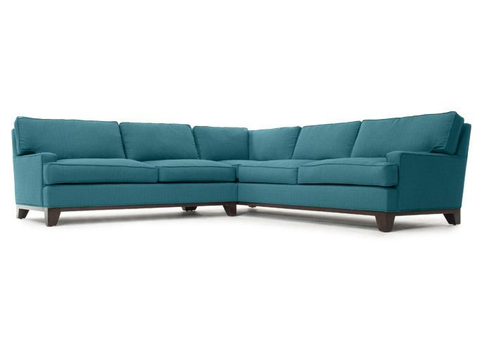 Rove Concepts Furniture   Furniture, Sectional Sofa, Blue Throughout Gneiss Modern Linen Sectional Sofas Slate Gray (View 5 of 15)