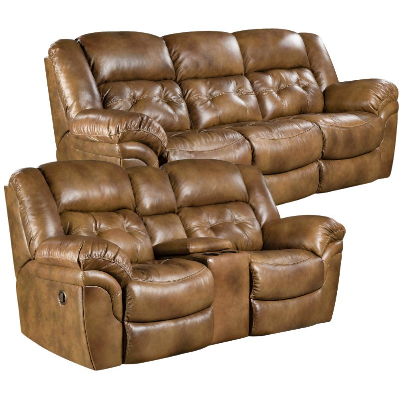 Saddle Brown Leather Match Power Reclining Sofa In Nolan Leather Power Reclining Sofas (View 5 of 15)
