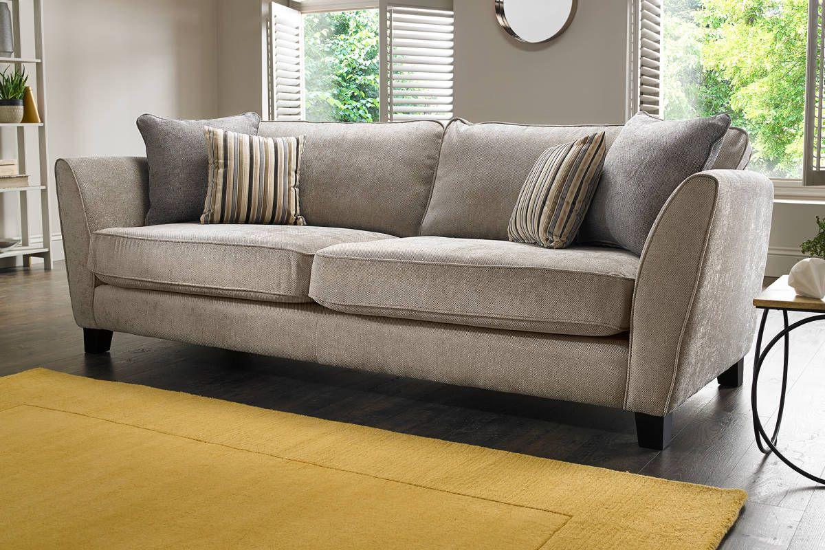 Salisbury | Sofology 198Com For 3 Seater | Velvet Sofa Inside Canterbury Leather Sofas (View 3 of 12)