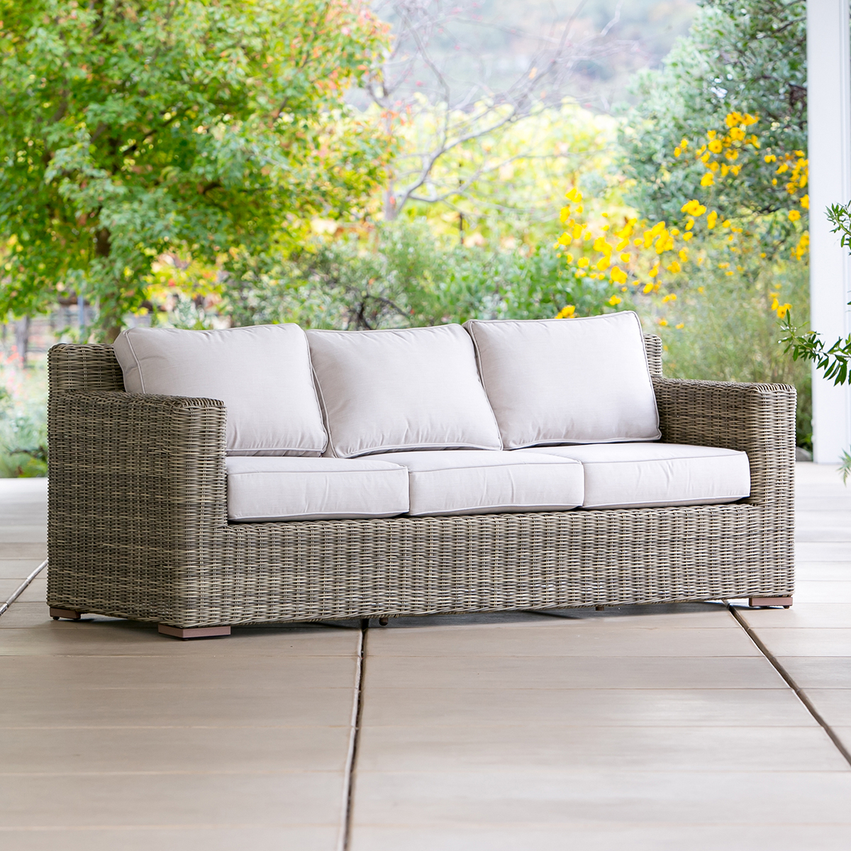 Sausalito Sofa – Modern Outdoor Furniture   Terra Patio Within Outdoor Sofa Chairs (View 6 of 15)