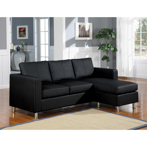Sectional Sofa For Small Spaces – Homesfeed Regarding Wynne Contemporary Sectional Sofas Black (View 10 of 15)