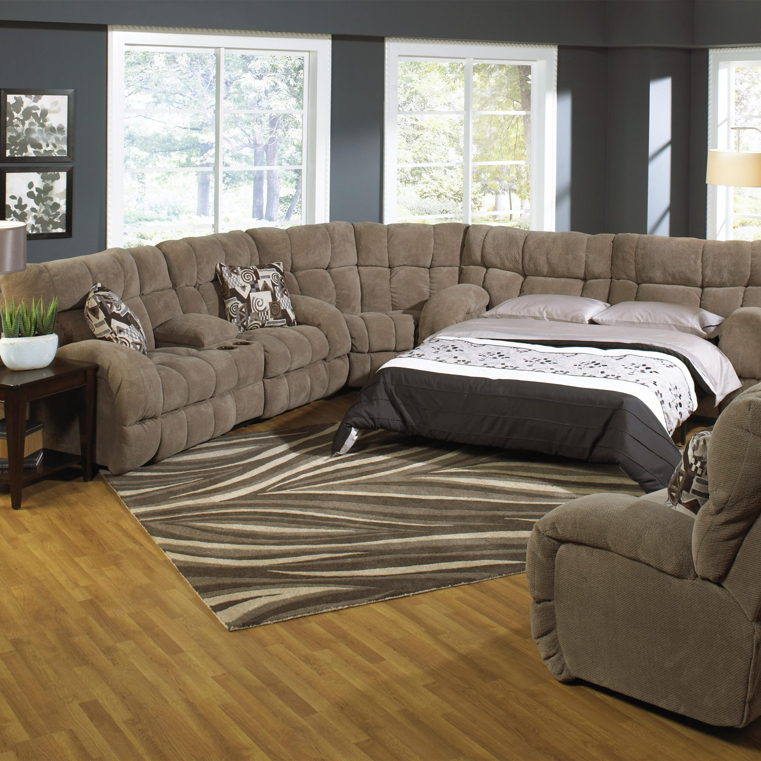 Sectional Sofa Sleepers For Better Sleep Quality And Within Big Sofa Chairs (View 6 of 15)