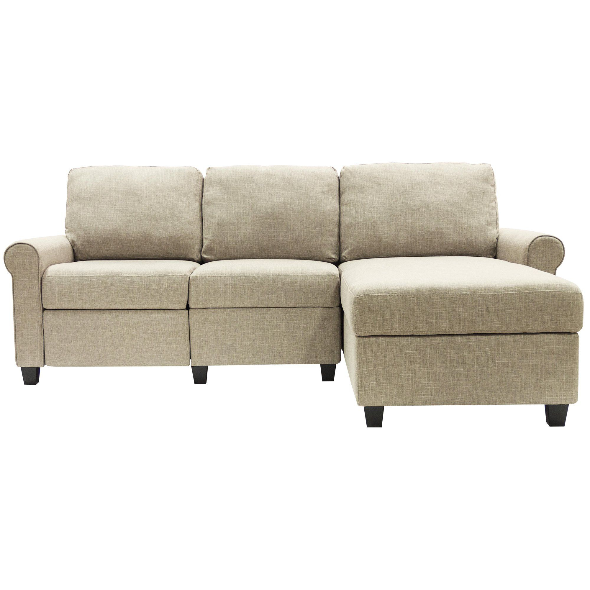Serta Copenhagen Reclining Sectional With Right Storage Inside Copenhagen Reclining Sectional Sofas With Left Storage Chaise (Photo 12 of 15)