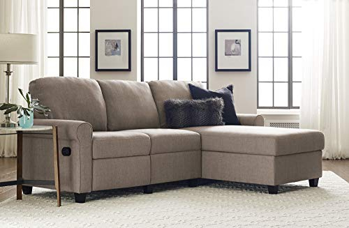 Serta Copenhagen Reclining Sectional With Right Storage Regarding Copenhagen Reclining Sectional Sofas With Left Storage Chaise (View 3 of 15)