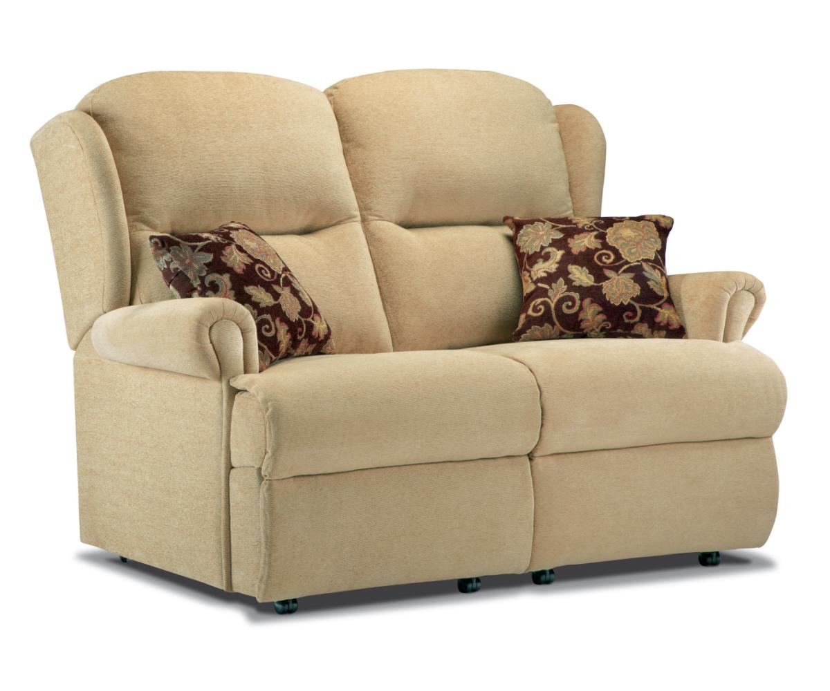Sherborne Malvern Small Fixed 2 Seater Sofa – 2 Seater Regarding Small 2 Seater Sofas (View 2 of 15)