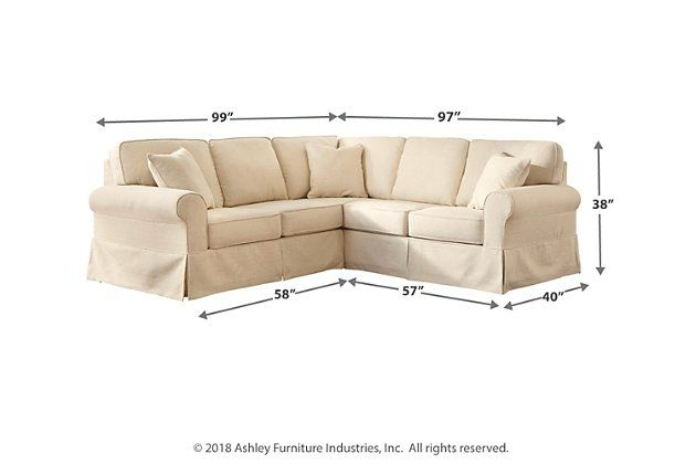 Shermyla 2 Piece Sectional   Ashley Furniture Homestore In Intended For 3 Piece Sectional Sofa Slipcovers (View 15 of 15)