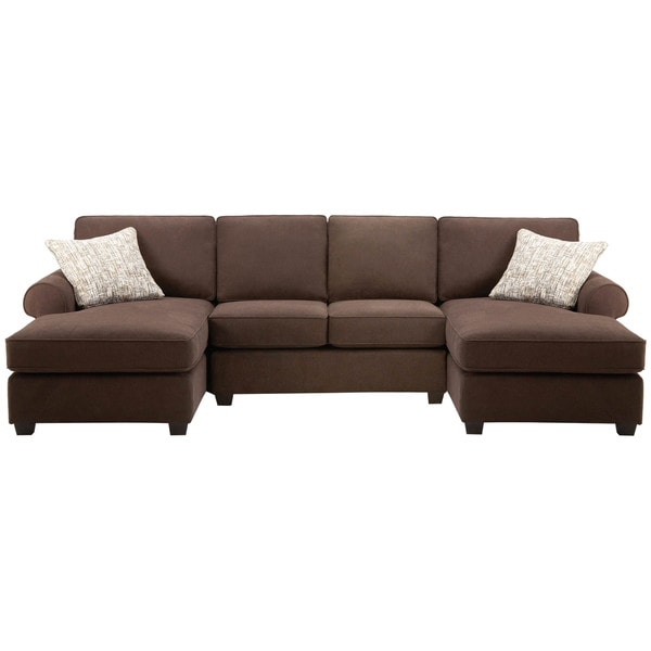 Shop Art Van Left And Right Facing Chaise With Armless Inside Armless Sectional Sofas (View 4 of 15)