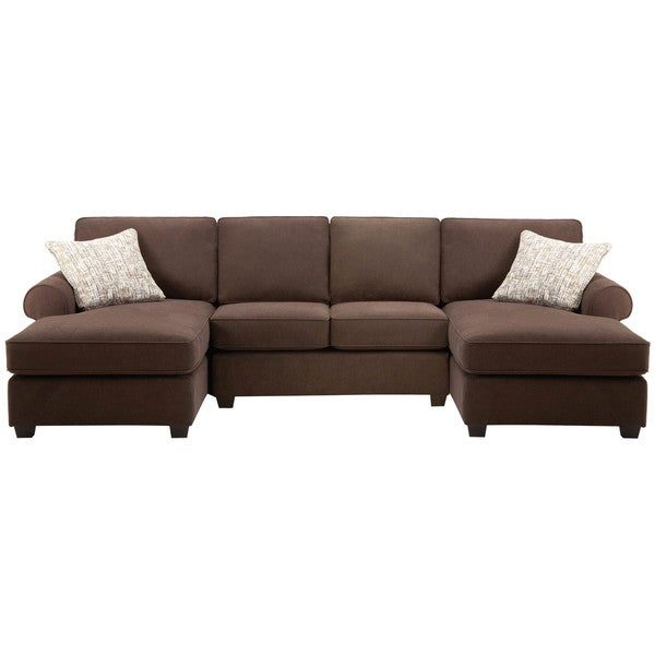 Shop Art Van Left And Right Facing Chaise With Armless Regarding Armless Sectional Sofas (View 4 of 15)