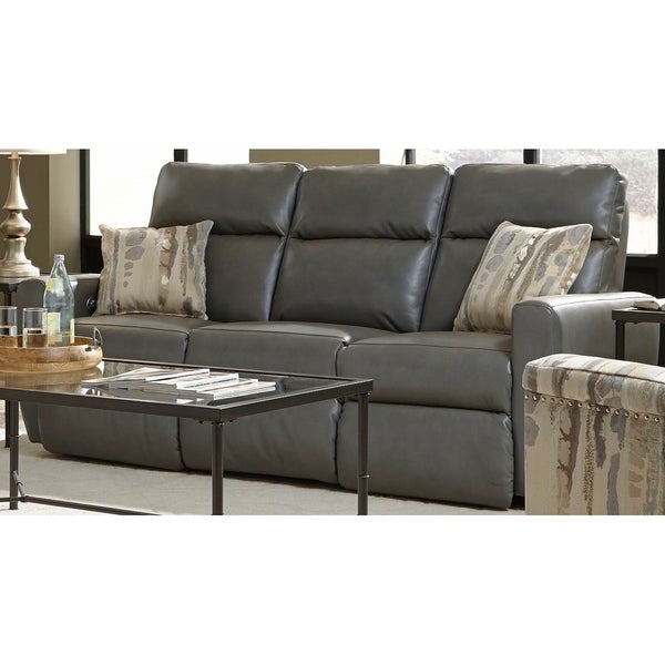 Shop Southern Motion'S Knockout Power Double Reclining Throughout Titan Leather Power Reclining Sofas (View 13 of 15)
