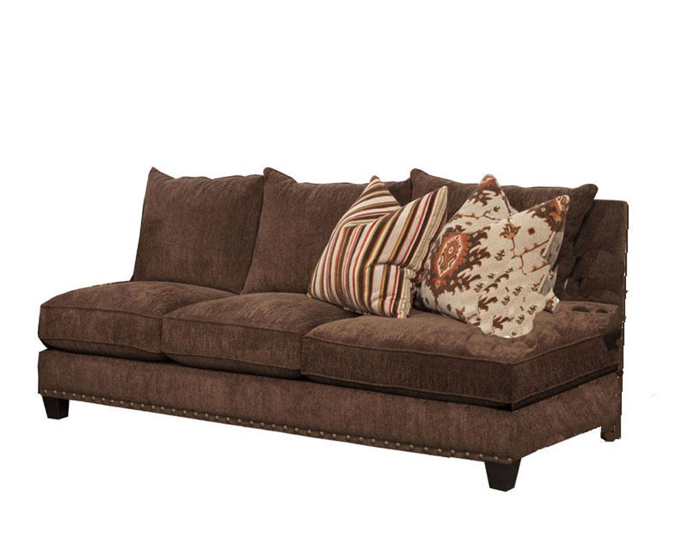 Signature Armless Sofa Mountain Heights Sichalsf Regarding Armless Sectional Sofas (View 3 of 15)