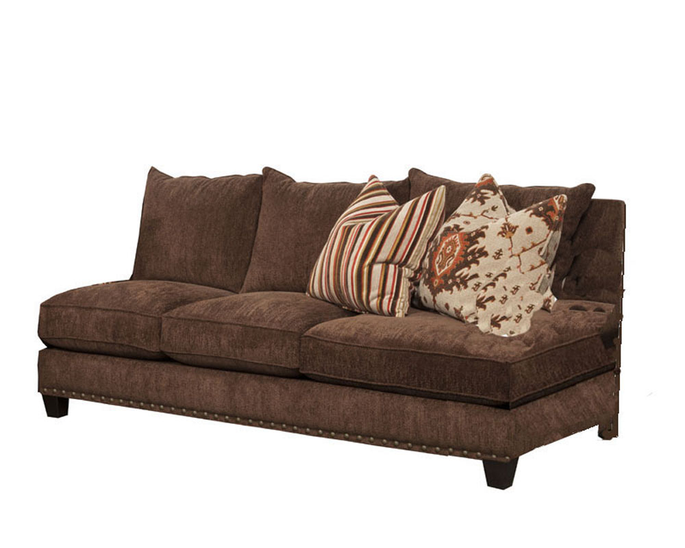Signature Armless Sofa Mountain Heights Sichalsf Throughout Armless Sectional Sofas (View 3 of 15)