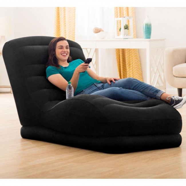 Single Back Inflatable Sofa With Electric Pump For Inflatable Sofas And Chairs (View 3 of 15)