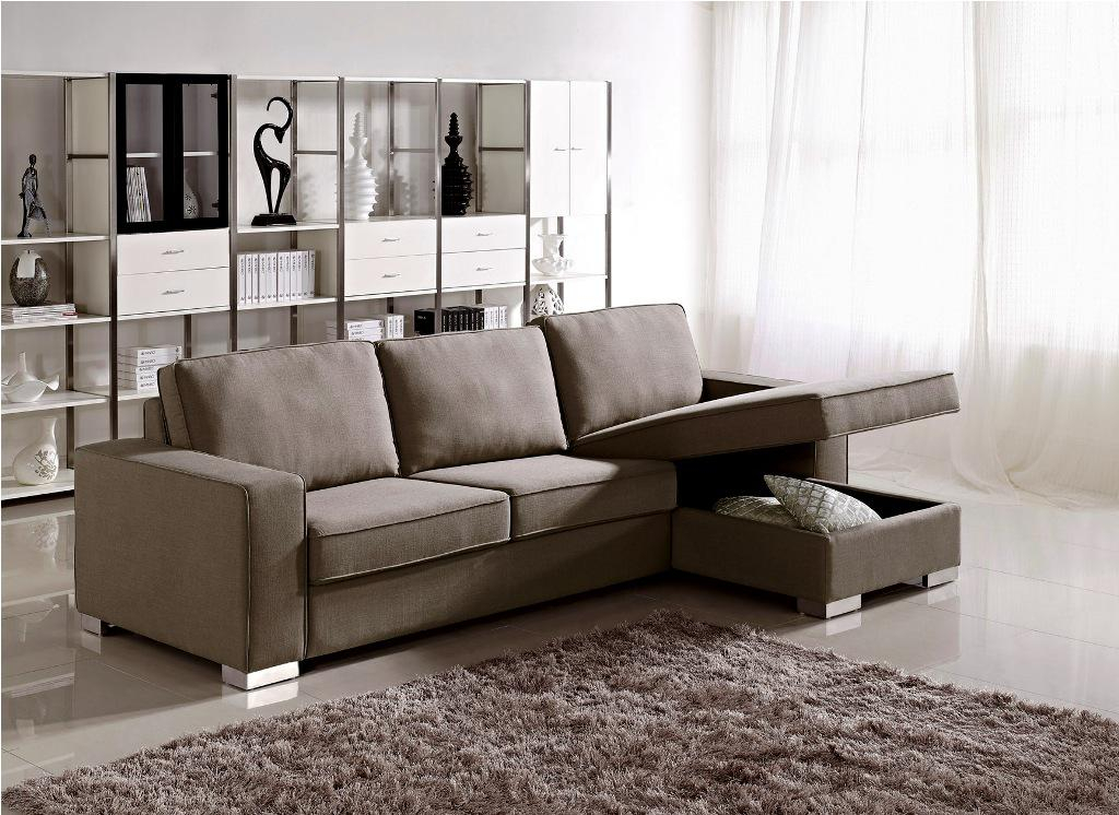 Small Sectional Sofa With Chaise: Perfect Choice For A Pertaining To Easton Small Space Sectional Futon Sofas (View 5 of 15)