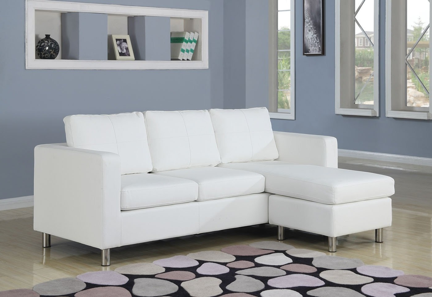 Small Sectional Sofa With Chaise: Perfect Choice For A With 4Pc Crowningshield Contemporary Chaise Sectional Sofas (View 14 of 15)