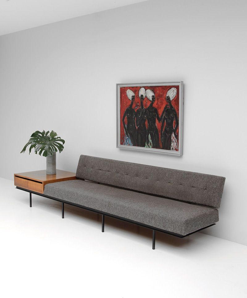 Sofa And Cabinetflorence Knoll   Knoll Furniture In Florence Knoll Living Room Sofas (View 15 of 15)
