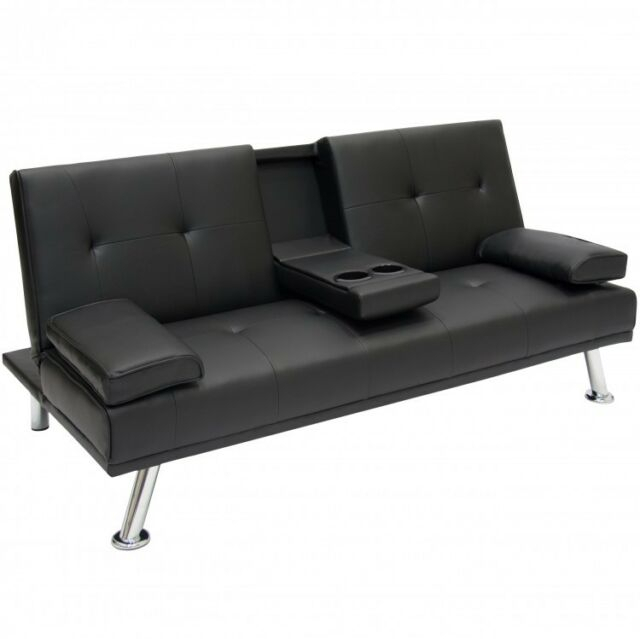 Sofa Bed Futon Lounger Home Theater Compact Recliner Couch Regarding Lannister Reclining Sofas (View 7 of 7)