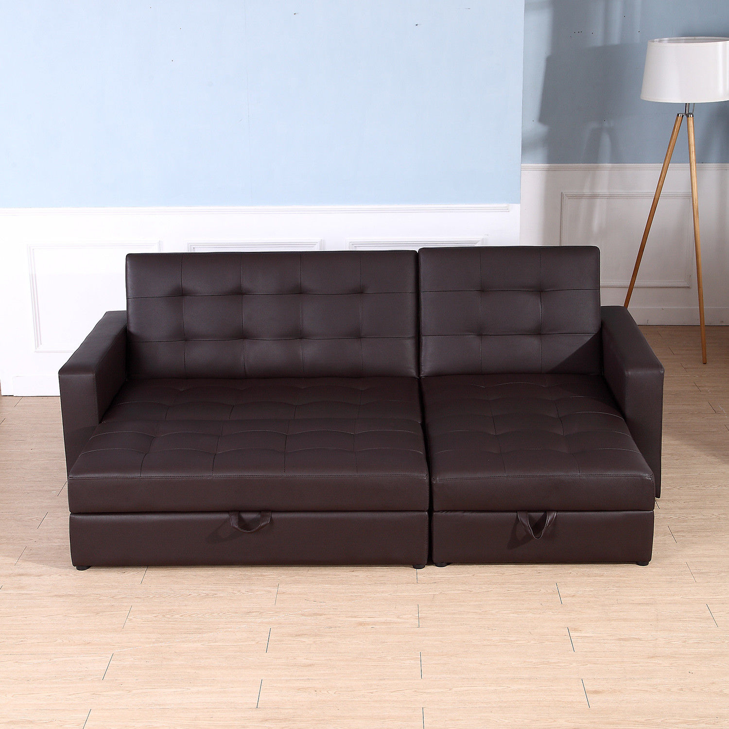 Sofa Bed Storage Sleeper Chaise Loveseat Couch Sectional With Regard To Live It Cozy Sectional Sofa Beds With Storage (View 7 of 15)