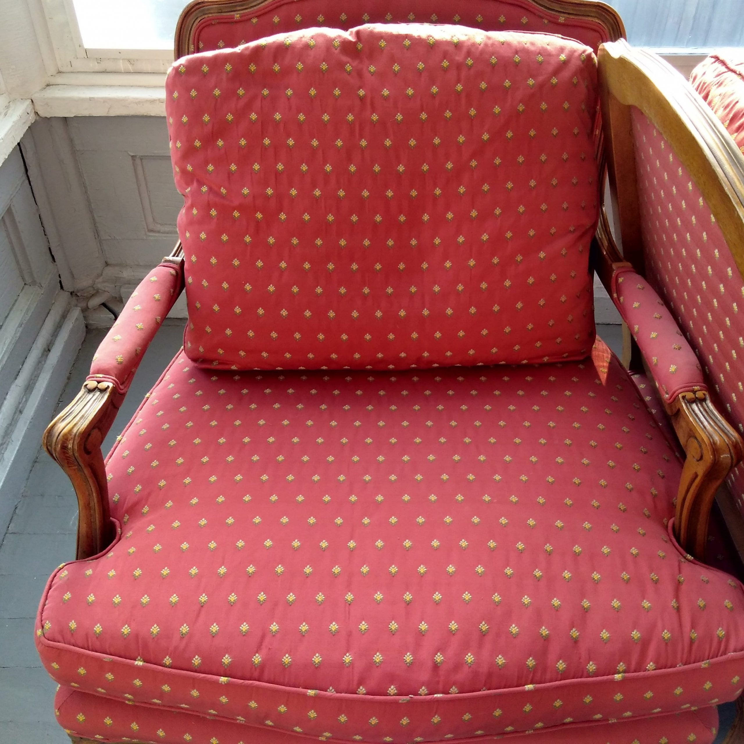 Sofa Chairs Arm Chairs Wood Upholstered Chairs Queen Anne In Sofa Arm Chairs (View 2 of 15)