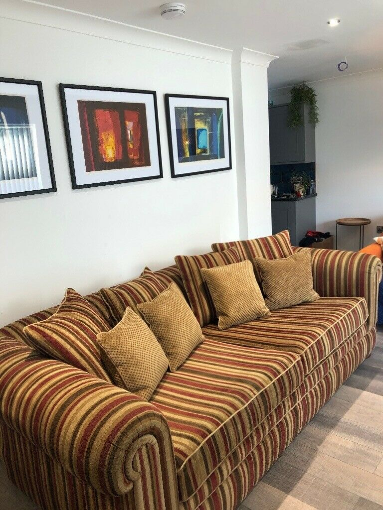 Sofa Large 4 Seater | In Aberdeen | Gumtree Throughout 4 Seater Sofas (View 9 of 15)