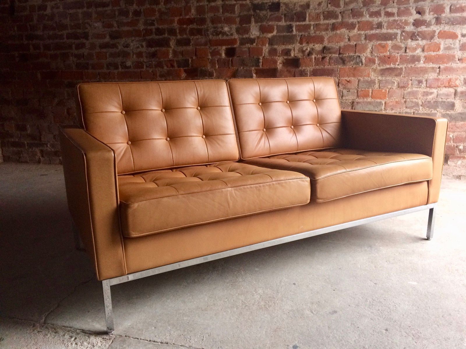 Sofa Number Two, Original Florence Knollknoll Studio Pertaining To Florence Knoll Leather Sofas (View 6 of 15)
