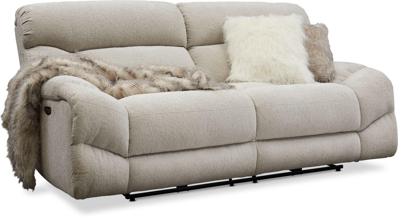 Sofa Power Recliner – Latest Sofa Pictures Regarding Trailblazer Gray Leather Power Reclining Sofas (View 8 of 15)