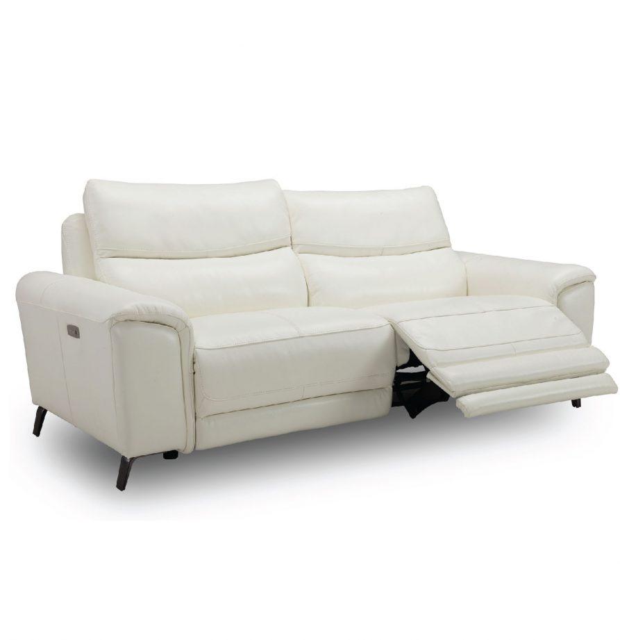 Sofa Reclinable Electrico | Baci Living Room Regarding Navigator Power Reclining Sofas (View 15 of 15)