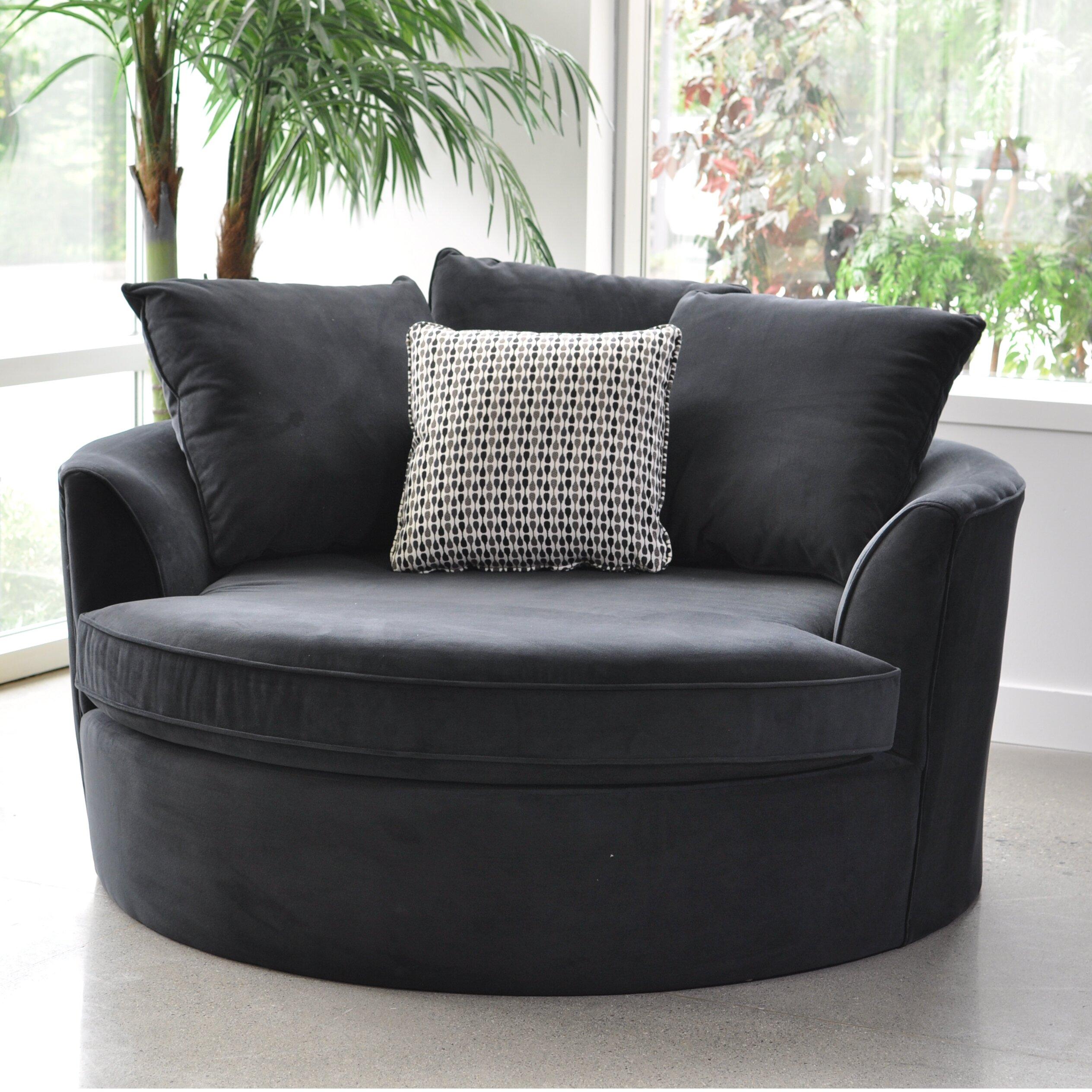 Sofas To Go Cuddler Barrel Chair & Reviews | Wayfair (View 3 of 15)