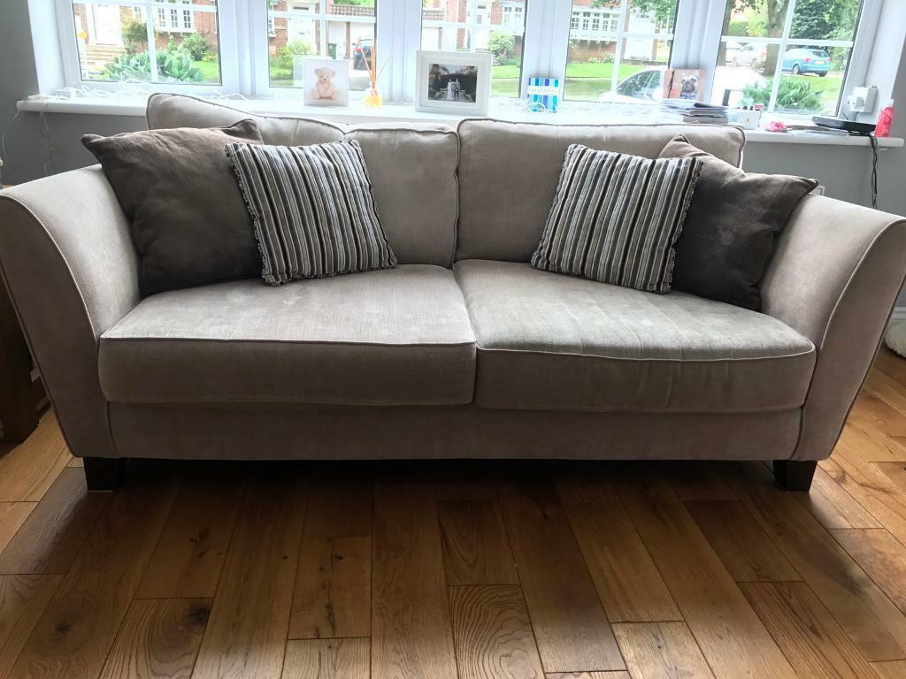 Sofology 2 X 4 Seater Canterbury Sofa + Storage Footstool For Canterbury Leather Sofas (View 11 of 12)