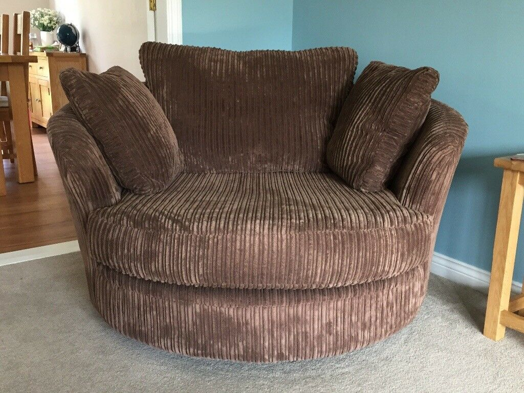 Sofology Swivel Cuddler Chair | In Taverham, Norfolk | Gumtree Throughout Cuddler Swivel Sofa Chairs (View 4 of 15)