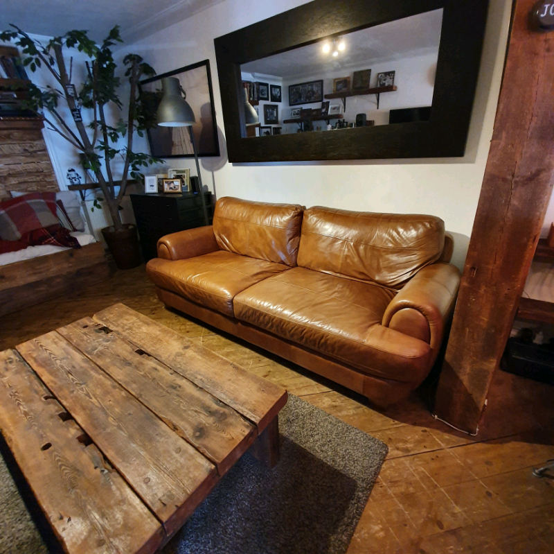 Sofology Tate Leather Sofa 4 Seater | In Colindale, London Inside 4 Seat Leather Sofas (View 9 of 15)