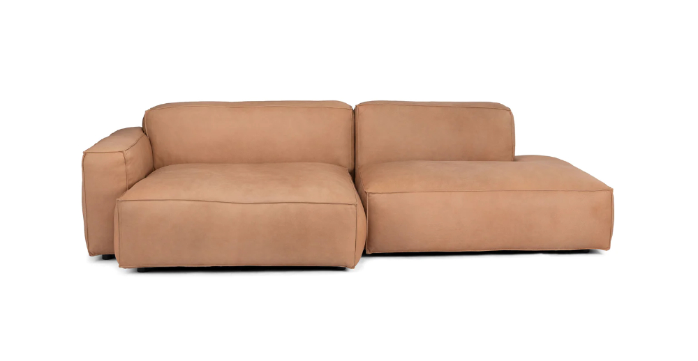 Solae Canyon Tan Left Sectional   Mid Century Modern Pertaining To Florence Mid Century Modern Left Sectional Sofas (View 12 of 15)
