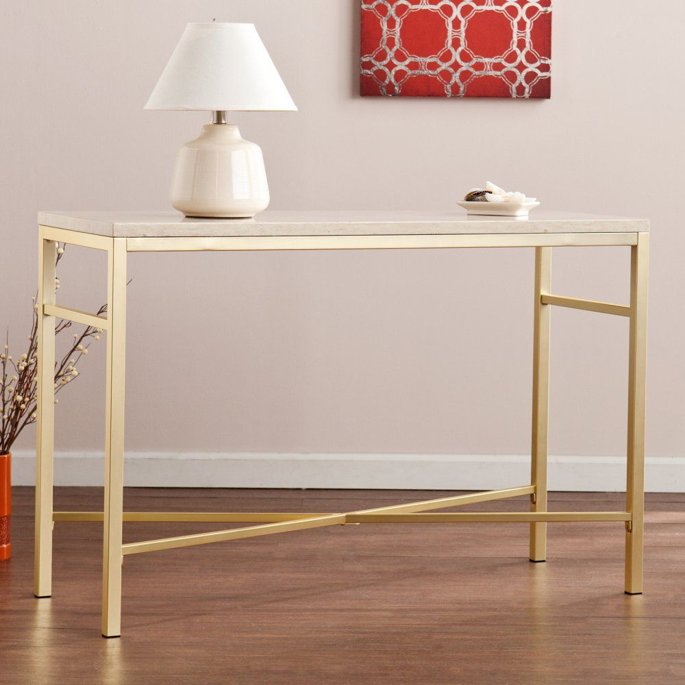 Southern Enterprises Orinda Console Table – The Versatile With Orinda Sofas (View 2 of 15)