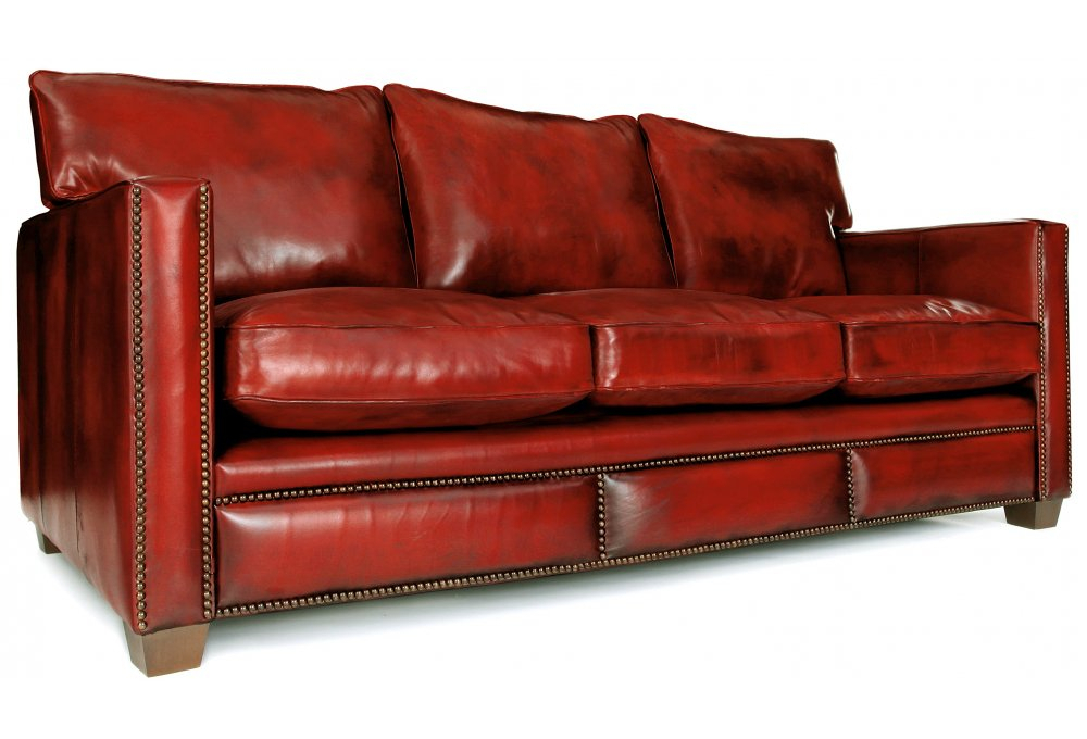 Spitalfield | Original Leather Large 4 Seater Sofa From Throughout 4 Seater Sofas (View 13 of 15)